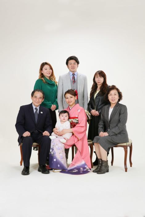 成人式_スタジオ家族写真